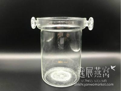 使用玻璃器皿泡发燕窝